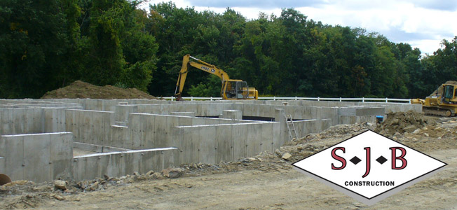 full basements excavating and more by SJB Construction, excavation contractors in Massachusetts