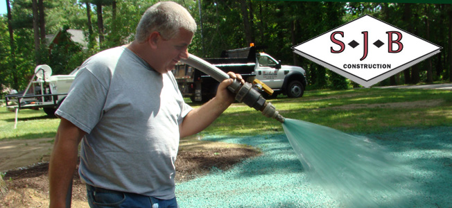 Hydroseeding in Central Mass., Worcester County