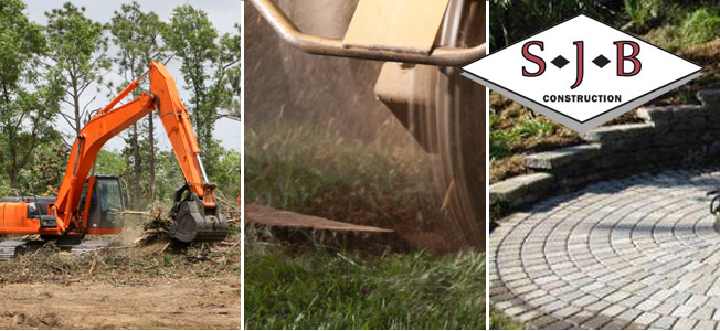 Outdoor construction and yard services, Central Massachusetts, SJB Construction Inc.